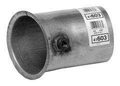 """Walker WAL-41603 Heavy Duty Flared Exhaust Pipe Adapter - (5"""" ID, 5"""" OD) Small Image"""