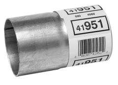 """Walker WAL-41951 Aluminized Steel Exhaust Pipe Connector - (2.25"""" ID, 2.25"""" OD, 4"""" Length) Small Image"""