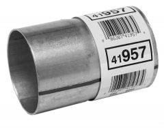 """Walker WAL-41957 Aluminized Steel Exhaust Pipe Connector - (2.5"""" ID, 2.5"""" OD, 4"""" Length) Small Image"""