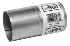 """Walker WAL-41964 Aluminized Steel Exhaust Pipe Connector - (2.5"""" ID, 2.5"""" OD, 4.5"""" Length) Small Image"""