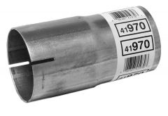 """Walker WAL-41970 Aluminized Steel Exhaust Pipe Connector - (3"""" ID, 3"""" OD, 6"""" Length) Small Image"""