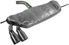 Walker WAL-50073 Quiet-Flow® SS Stainless Steel OEM Standard Irregular Muffler Assembly Small Image