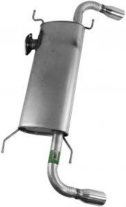 Walker WAL-50077 Quiet-Flow® SS Stainless Steel OEM Standard Oval Muffler Small Image