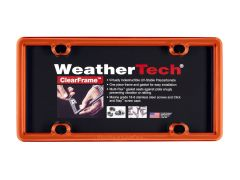 WeatherTech WTD-8ALPCF13 License Plate Frame Small Image