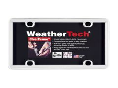 WeatherTech WTD-8ALPCF8 License Plate Frame Small Image
