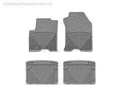 WeatherTech WTD-W98GR-W20GR Front and Rear Rubber Mats Small Image