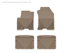 WeatherTech WTD-W98TN-W20TN Front and Rear Rubber Mats Small Image