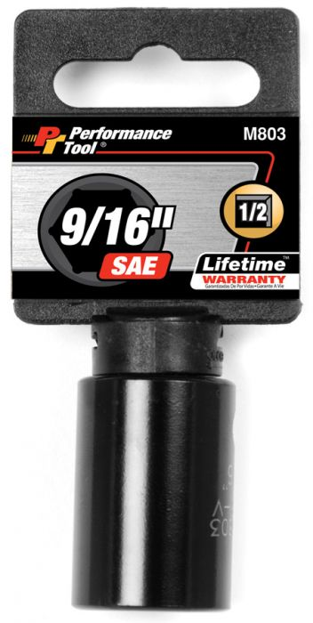 Performance Tool 1//2 IN DR IMPACT SOCKET 20MM M830