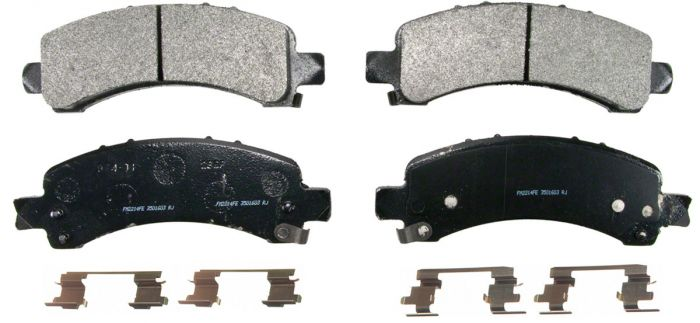 SevereDuty® Semi-Metallic Brake Pad Set