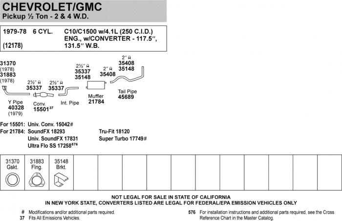 Exhaust Flange Walker 31883