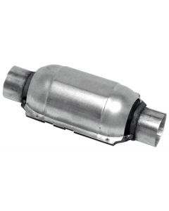 "Walker WAL-15027 Standard Universal Round Federal Catalytic Converter - (2.25"" IN/2.25"" OUT) Small Image"