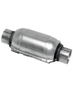 "Walker WAL-15028 Standard Universal Round Federal Catalytic Converter - (2.5"" IN/2.5"" OUT) Small Image"