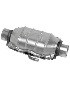 "Walker WAL-15030 Standard Universal Oval Federal Catalytic Converter - (1.75"" IN/1.75"" OUT) Small Image"