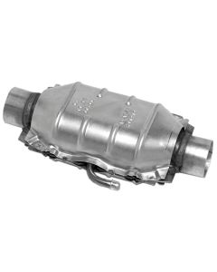 "Walker WAL-15031 Standard Universal Oval Federal Catalytic Converter - (2"" IN/2"" OUT) Small Image"