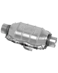 "Walker WAL-15034 Standard Universal Oval Federal Catalytic Converter - (3"" IN/3"" OUT) Small Image"