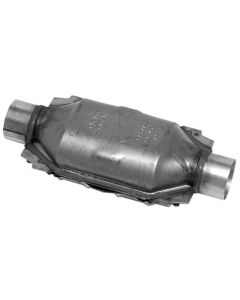 "Walker WAL-15035 Standard Universal Oval Federal Catalytic Converter - (1.75"" IN/1.75"" OUT) Small Image"