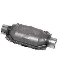 "Walker WAL-15036 Standard Universal Oval Federal Catalytic Converter - (2"" IN/2"" OUT) Small Image"