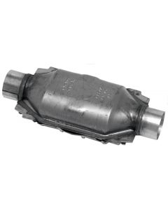"Walker WAL-15037 Standard Universal Oval Federal Catalytic Converter - (2.25"" IN/2.25"" OUT) Small Image"
