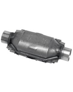 "Walker WAL-15038 Standard Universal Oval Federal Catalytic Converter - (2.5"" IN/2.5"" OUT) Small Image"