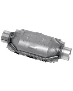 "Walker WAL-15039 Standard Universal Oval Federal Catalytic Converter - (3"" IN/3"" OUT) Small Image"
