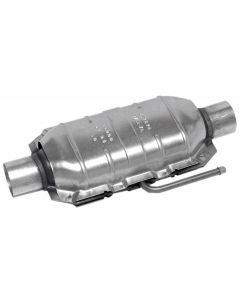 "Walker WAL-15042 Standard Universal Oval Federal Catalytic Converter - (2.5"" IN/2.5"" OUT) Small Image"