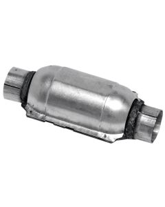 "Walker WAL-15050 Standard Universal Round Federal Catalytic Converter - (1.75"" IN/1.75"" OUT) Small Image"