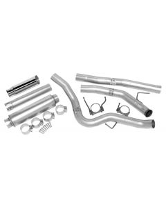 DynoMax WAL-19383 Ultra Flo™ Welded Turbo-Back Single Exhaust System Small Image