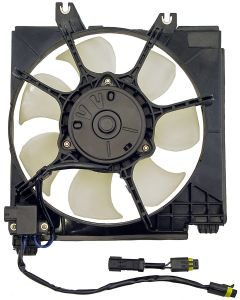 Dorman MOT-620-006 OE Solutions™ A/C Condenser Fan Assembly with Extra Harness Small Image