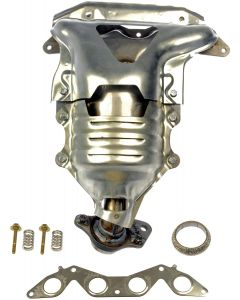 Dorman MOT-674-608 OE Solutions™ Stainless Steel Exhaust Manifold with Integrated Stainless Steel Federal Catalytic Converter Small Image