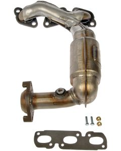 Dorman MOT-674-831 OE Solutions™ Stainless Steel Exhaust Manifold with Integrated Stainless Steel Federal Catalytic Converter Small Image