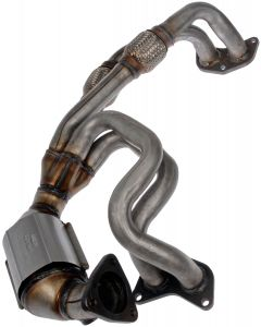 Dorman MOT-674-864 OE Solutions™ Stainless Steel Exhaust Manifold with Integrated Stainless Steel Federal Catalytic Converter Small Image