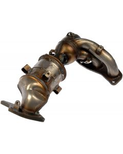 Dorman MOT-674-933 OE Solutions™ Stainless Steel Exhaust Manifold with Integrated Stainless Steel Federal Catalytic Converter - Includes Gasket Hardware Small Image
