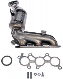 Dorman MOT-674-964 OE Solutions™ Stainless Steel Exhaust Manifold with Integrated Stainless Steel Federal Catalytic Converter Small Image