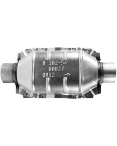 """Walker WAL-80827 CalCat® Universal Oval CARB Catalytic Converter - (2.25"""" IN/2.25"""" OUT) Small Image"""