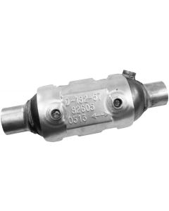"Walker WAL-82605 CalCat® Universal Round CARB Catalytic Converter with 1x O2 Sensor Port - (2"" IN/2"" OUT) Small Image"
