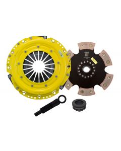 Advanced Clutch Technology ACT-AA2-HDR6 Heavy Duty™ Pressure Plate & Race Series™ Rigid 6-Pad Clutch Kit Small Image