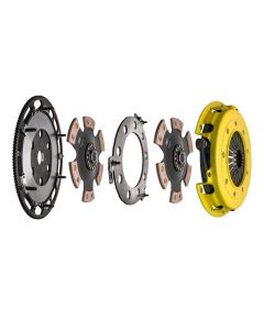 Advanced Clutch Technology ACT-T1R-F03 Twin Disc Heavy Duty™ Race Clutch Kit Small Image