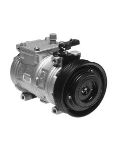 DENSO DEN-471-0100 First Time Fit® A/C Compressor with Clutch Small Image