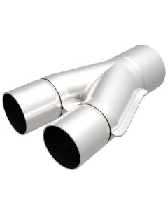 "MagnaFlow MAG-10735 Stainless Steel 10? Exhaust Y-Pipe - (2"" ID, 2.5"" OD, 8"" Length) Small Image"
