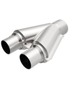 "MagnaFlow MAG-10768 Stainless Steel Exhaust Y-Pipe - (2.5"" ID, 2.5"" OD, 10"" Length) Small Image"