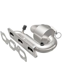 MagnaFlow MAG-23092 Direct Fit Stainless Steel Federal Catalytic Converter with Header Small Image