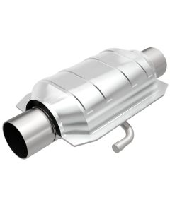"MagnaFlow MAG-33115 Universal Stainless Steel CARB PRE-OBDII Catalytic Converter (2.25"" IN/2.25"" OUT) Small Image"