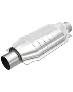 "MagnaFlow MAG-332005 Universal Stainless Steel CARB PRE-OBDII Catalytic Converter (2.25"" IN/2.25"" OUT) Small Image"