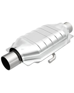 "MagnaFlow MAG-332013 Universal Stainless Steel CARB PRE-OBDII Catalytic Converter (1.75"" IN/1.75"" OUT) Small Image"