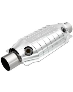 "MagnaFlow MAG-49064 Stainless Federal OEM Grade Catalytic Converter with 2x O2 Sensor Ports (2"" IN\/2"" OUT) Small Image"