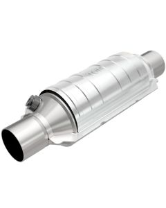 "MagnaFlow MAG-49335 Stainless Federal OEM Grade Catalytic Converter with 1x O2 Sensor Port (2.25"" IN/2.25"" OUT) Small Image"