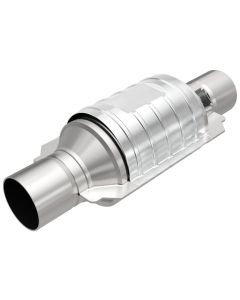 "MagnaFlow MAG-49435 Stainless Federal OEM Grade Catalytic Converter with 1x O2 Sensor Port (2.25"" IN\/2.25"" OUT) Small Image"