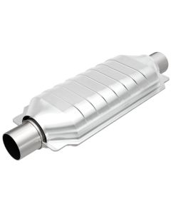 "MagnaFlow MAG-49606 Stainless Federal OEM Grade Catalytic Converter without Sensor Port (2.5"" IN/2.5"" OUT) Small Image"