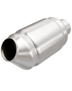 "MagnaFlow MAG-49874 Stainless Federal OEM Grade Catalytic Converter without Sensor Port (2"" IN\/2"" OUT) Small Image"
