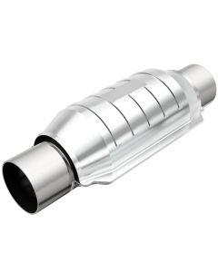 "MagnaFlow MAG-53006M Stainless Federal Catalytic Converter without Sensor Port (2.5"" IN\/2.5"" OUT) Small Image"